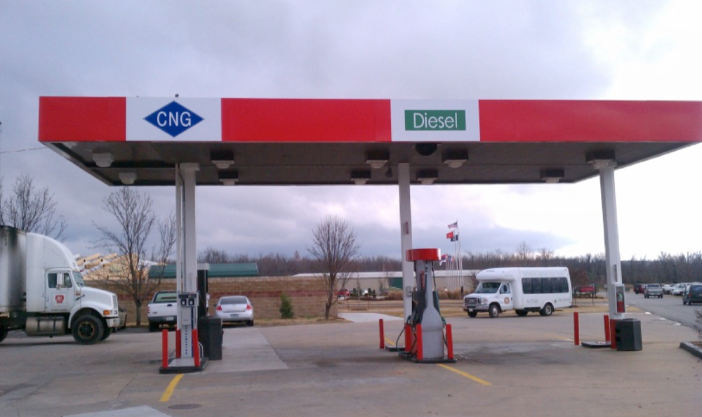 Quick Fill Station, Cherokee Nation, Tahlequah, Oklahoma