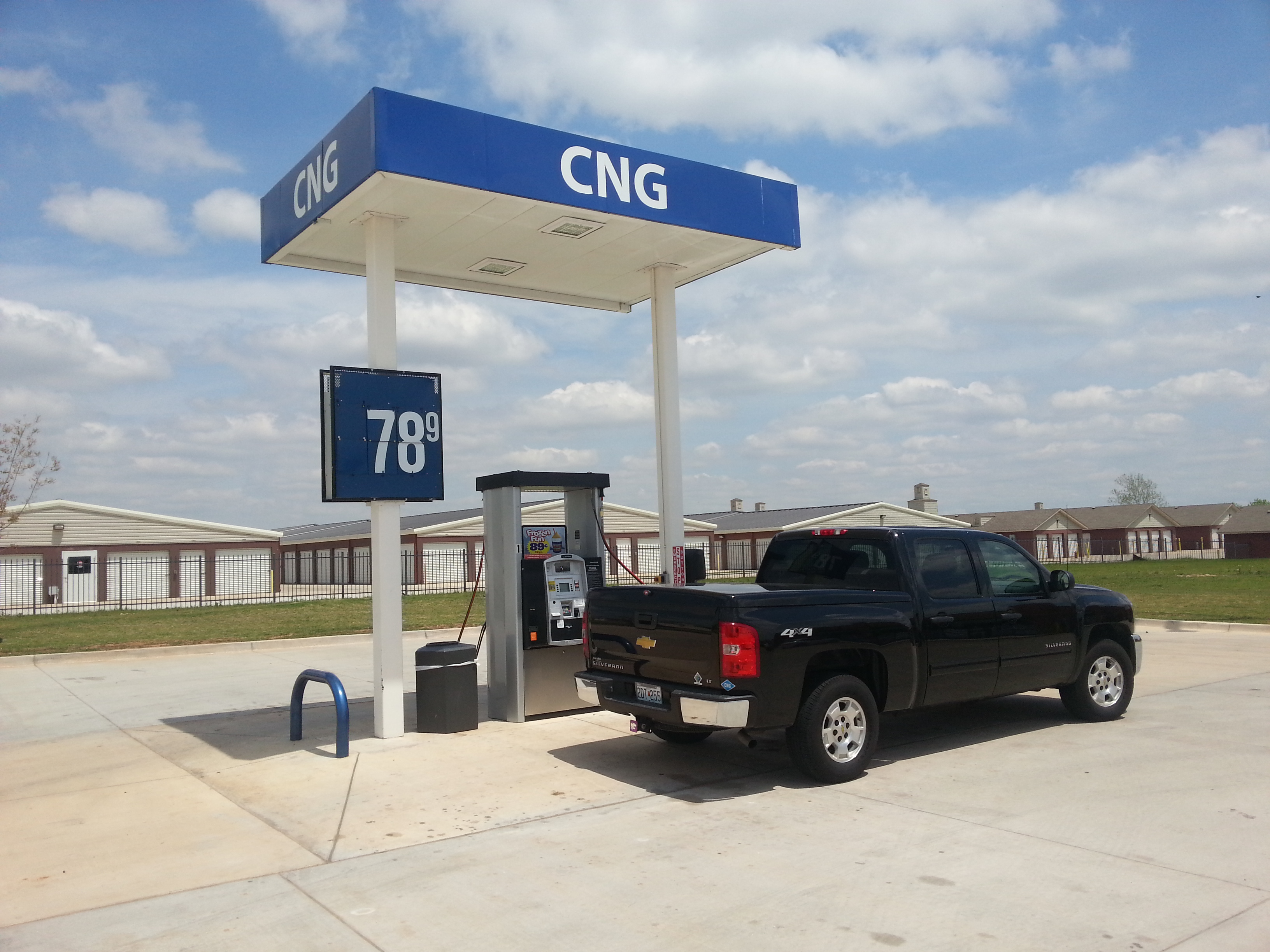 CNG Availability